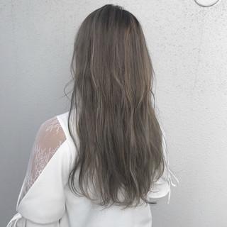 モード 外国人風カラー ダブルカラー ブリーチ ヘアスタイルや髪型の写真・画像