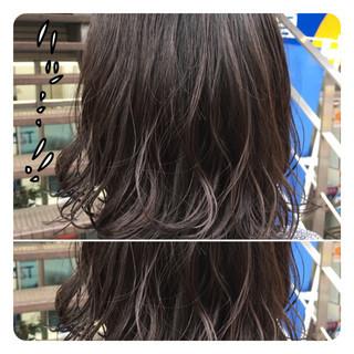 デジタルパーマ ナチュラル パーマ デート ヘアスタイルや髪型の写真・画像