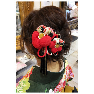 ハーフアップ 簡単ヘアアレンジ ヘアアレンジ 編み込み ヘアスタイルや髪型の写真・画像