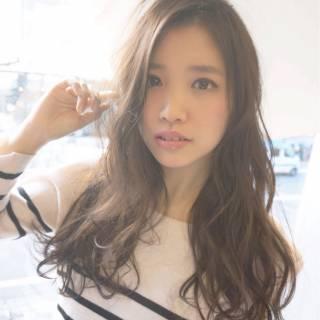 モテ髪 コンサバ 大人かわいい ロング ヘアスタイルや髪型の写真・画像