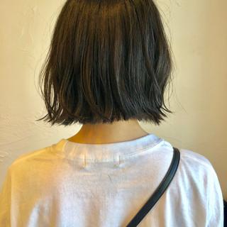 ナチュラル デート ボブ スポーツ ヘアスタイルや髪型の写真・画像