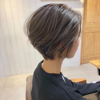 デート ナチュラル 簡単ヘアアレンジ ショート ヘアスタイルや髪型の写真・画像