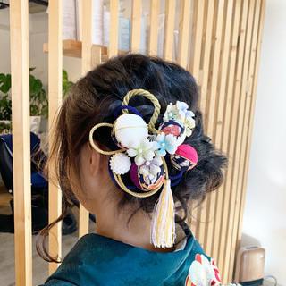 ヘアアレンジ 和装ヘア 和装 和装髪型 ヘアスタイルや髪型の写真・画像