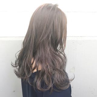 ニュアンス ミルクティー ガーリー ハイライト ヘアスタイルや髪型の写真・画像