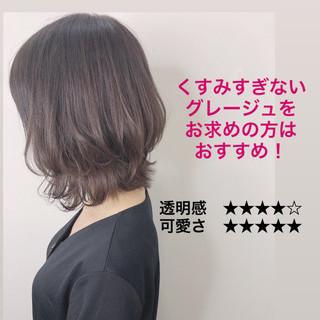 ショートヘア ナチュラル 透明感カラー 外国人風カラー ヘアスタイルや髪型の写真・画像