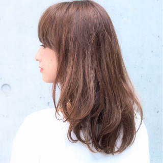 大人女子 ニュアンス 小顔 ナチュラル ヘアスタイルや髪型の写真・画像