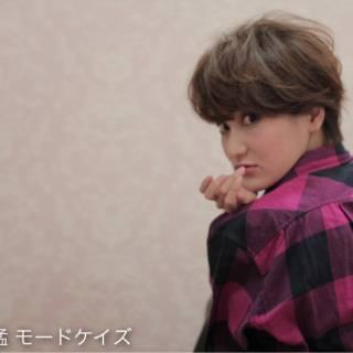 外国人風カラー ボブ ショート グラデーションカラー ヘアスタイルや髪型の写真・画像