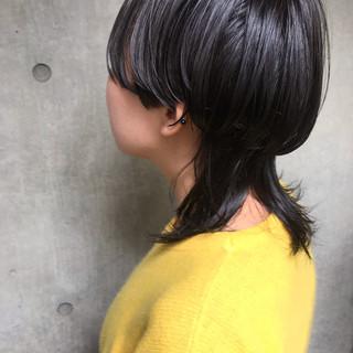 ショート オフィス モード 簡単ヘアアレンジ ヘアスタイルや髪型の写真・画像