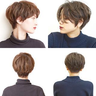 アンニュイほつれヘア スポーツ ハンサムショート ナチュラル ヘアスタイルや髪型の写真・画像