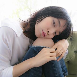 ロング グラデーションカラー 寝癖 大人かわいい ヘアスタイルや髪型の写真・画像