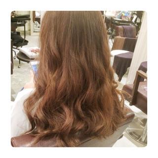コンサバ ゆるふわ セミロング 大人かわいい ヘアスタイルや髪型の写真・画像