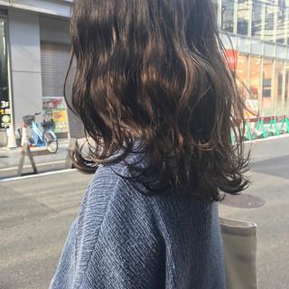 ヘアアレンジ 冬 デート ナチュラル ヘアスタイルや髪型の写真・画像