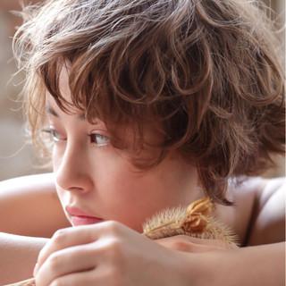 ガーリー デート ゆるふわ ベリーショート ヘアスタイルや髪型の写真・画像