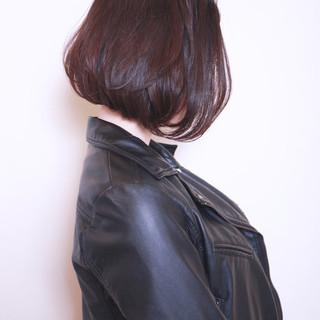 ショートボブ ボブ 前髪あり 前下がり ヘアスタイルや髪型の写真・画像