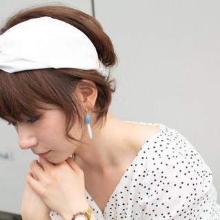 抜け感 女子力 大人かわいい エレガント ヘアスタイルや髪型の写真・画像