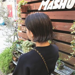 ストリート ボブ リラックス アンニュイ ヘアスタイルや髪型の写真・画像