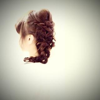 愛され ヘアアレンジ ナチュラル モテ髪 ヘアスタイルや髪型の写真・画像