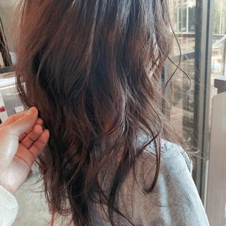 大人女子 フェミニン 大人ヘアスタイル レイヤーロングヘア ヘアスタイルや髪型の写真・画像