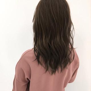 艶髪 ストリート セミロング 大人かわいい ヘアスタイルや髪型の写真・画像