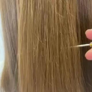 ショートヘア セミロング 髪質改善トリートメント トリートメント ヘアスタイルや髪型の写真・画像