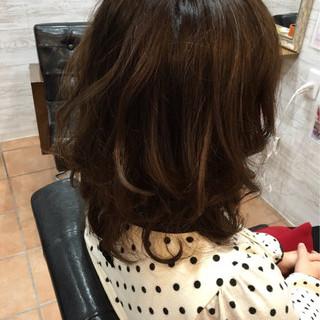 大人かわいい パーマ かわいい ゆるふわ ヘアスタイルや髪型の写真・画像