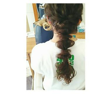 大人かわいい ヘアアレンジ 夏 ショート ヘアスタイルや髪型の写真・画像