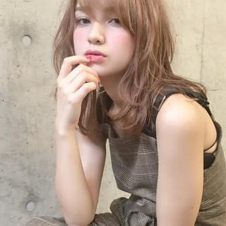デート ウェーブ ゆるふわ 女子力 ヘアスタイルや髪型の写真・画像