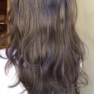 ナチュラル デート ブルージュ グレージュ ヘアスタイルや髪型の写真・画像