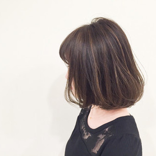 アッシュ ストリート 外国人風 ブラウン ヘアスタイルや髪型の写真・画像