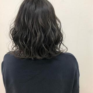 ミディアム ヘアアレンジ ナチュラル 外国人風 ヘアスタイルや髪型の写真・画像