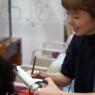 モード ボブ ショート ハイライト ヘアスタイルや髪型の写真・画像