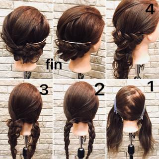 デート 簡単ヘアアレンジ ナチュラル ヘアアレンジ ヘアスタイルや髪型の写真・画像