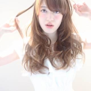 モテ髪 コンサバ ロング フェミニン ヘアスタイルや髪型の写真・画像