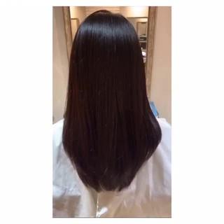セミロング ツヤ髪 髪質改善 髪質改善トリートメント ヘアスタイルや髪型の写真・画像