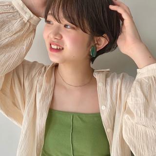大人ショート ショートヘア ショート アンニュイ ヘアスタイルや髪型の写真・画像
