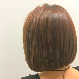 簡単ヘアアレンジ ブラウン ショート ストリート ヘアスタイルや髪型の写真・画像