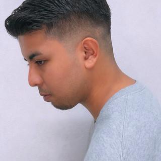 フェードカット メンズショート メンズカット ショート ヘアスタイルや髪型の写真・画像