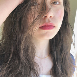 ガーリー アンニュイほつれヘア 大人かわいい ゆるふわ ヘアスタイルや髪型の写真・画像