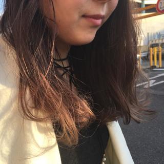 イルミナカラー 外国人風カラー グラデーションカラー ストリート ヘアスタイルや髪型の写真・画像