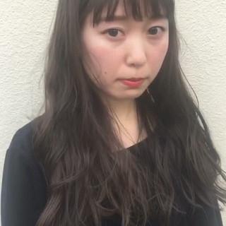 外国人風 大人かわいい 前髪あり ゆるふわ ヘアスタイルや髪型の写真・画像