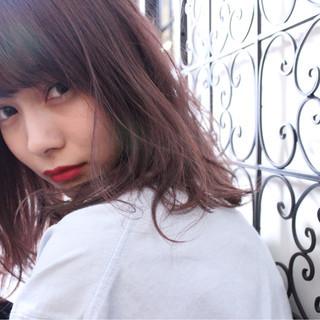 ダブルカラー 外国人風 秋 透明感 ヘアスタイルや髪型の写真・画像
