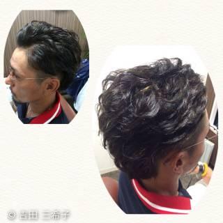 黒髪 坊主 アッシュ ダークアッシュ ヘアスタイルや髪型の写真・画像
