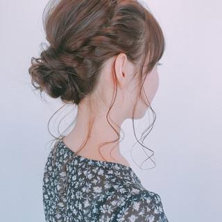 お祭り 夏 デート 女子会 ヘアスタイルや髪型の写真・画像