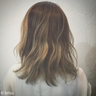 ストリート バレイヤージュ 外国人風カラー 大人かわいい ヘアスタイルや髪型の写真・画像