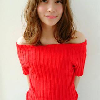 外国人風 外国人風カラー パーマ ヘアアレンジ ヘアスタイルや髪型の写真・画像