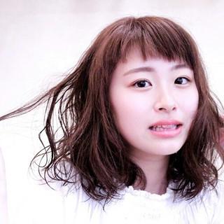 パーマ ゆるふわ 大人かわいい フェミニン ヘアスタイルや髪型の写真・画像