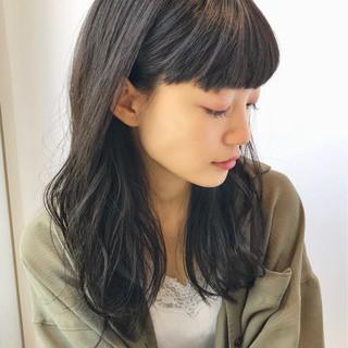 ミディアム オフィス フェミニン パーティ ヘアスタイルや髪型の写真・画像