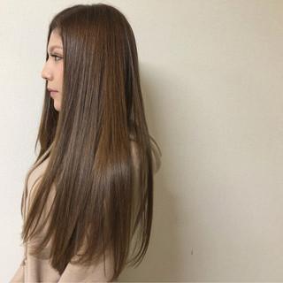 艶髪 大人女子 ナチュラル 透明感 ヘアスタイルや髪型の写真・画像