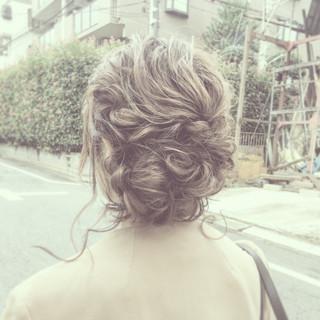 ショート ゆるふわ 編み込み ミディアム ヘアスタイルや髪型の写真・画像