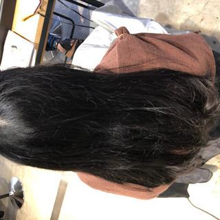 トリートメント ナチュラル オフィス 髪質改善トリートメント ヘアスタイルや髪型の写真・画像